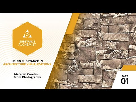 Using Substance in Architecture Visualization - 01 - Material Creation From Photography