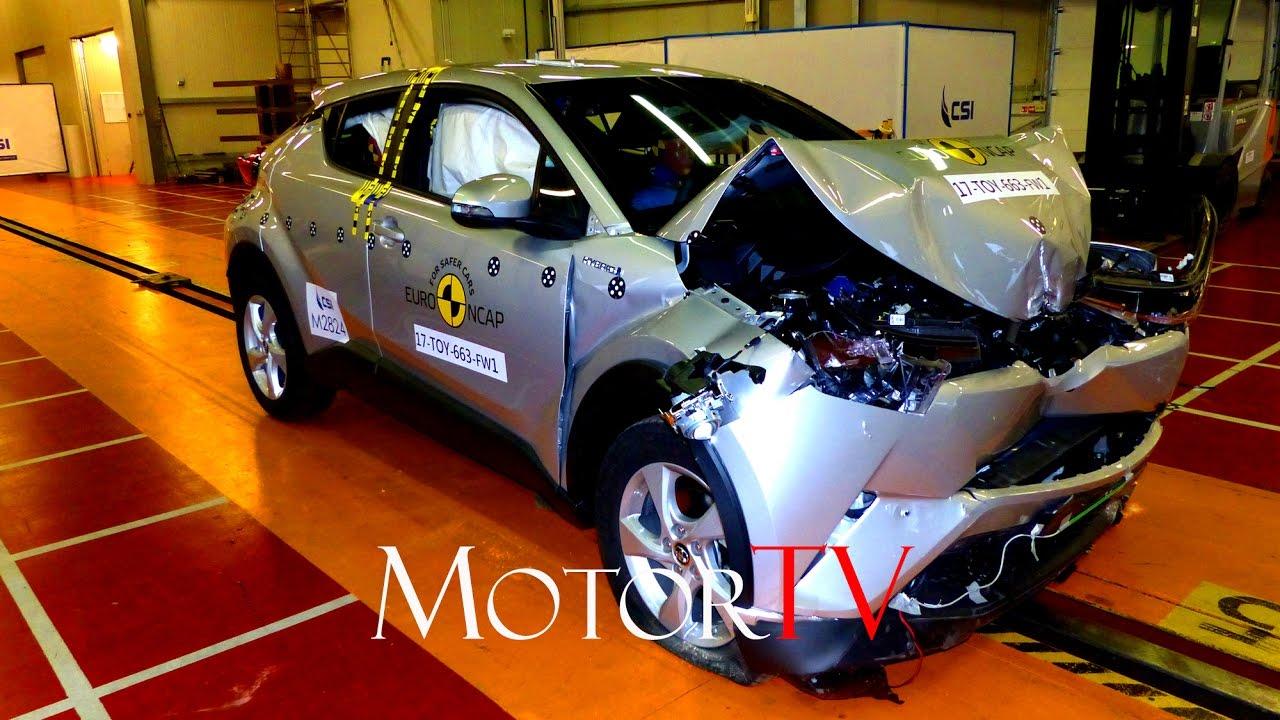 Toyota Chr 2017 Philippines >> CRASH TEST : NEW 2017 TOYOTA C-HR HYBRID l 5 STAR RATING | Doovi