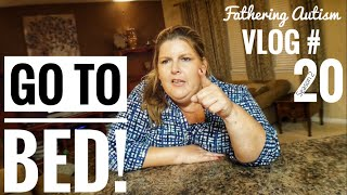 Autism and sleepless nights | fathering autism vlog #20