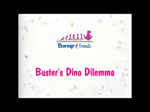 Arthur Season 1 Episode 3 Title Card (D.W. All Wet ; Buster's Dino Dilemma)