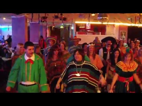 fiesta messicana coreografia di cetty e maryco dance carnevale 2016