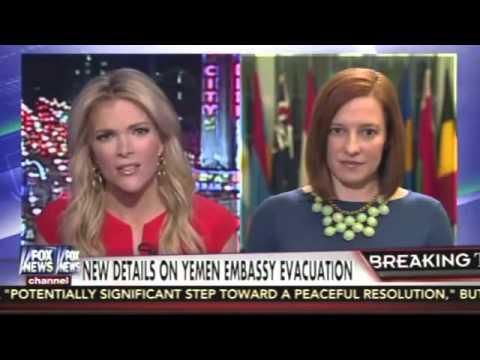 Megyn Kelly Hammers Jen Psaki Over US Retreat From Yemen
