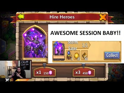 PocaY Rolling 100,0000 For Hero Collector SHOW UP ONETIME Castle Clash