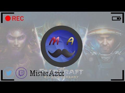 [LIVE] StarCraft II | #8 | Wings of Liberty | MisterAzix