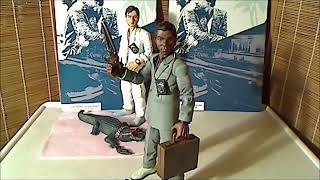 official action figures of Sonny and Rico of Miami Vice BY UNIVERSAL TELEVISION