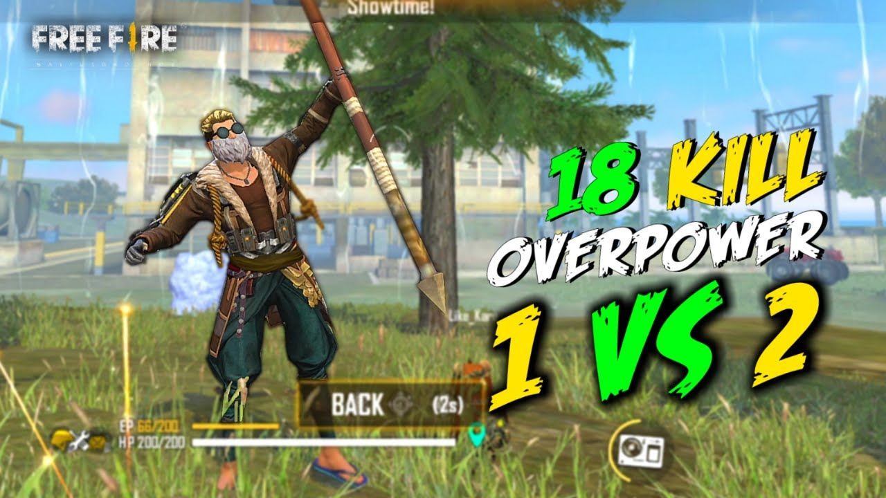 Old Bundle Solo vs Duo Best OverPower 18 Kill Gameplay - Garena Free Fire