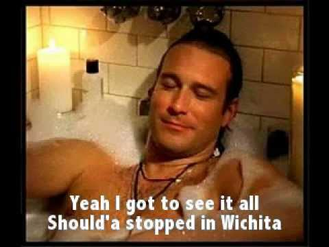 Wichita by John Corbett s on screen slide