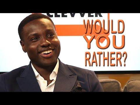 Would You Rather with Terminator Genisys' Dayo Okeniyi