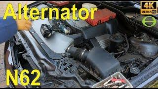 2007 Bmw X5 4 8 E70 Como Cambiar El Alternador  смотреть