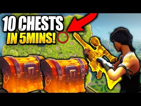 10+ LOOT CHESTS IN THE MATTER OF SECONDS/NEW BEST LOOT ROUTE (FORTNITE:BATTLE ROYALE)
