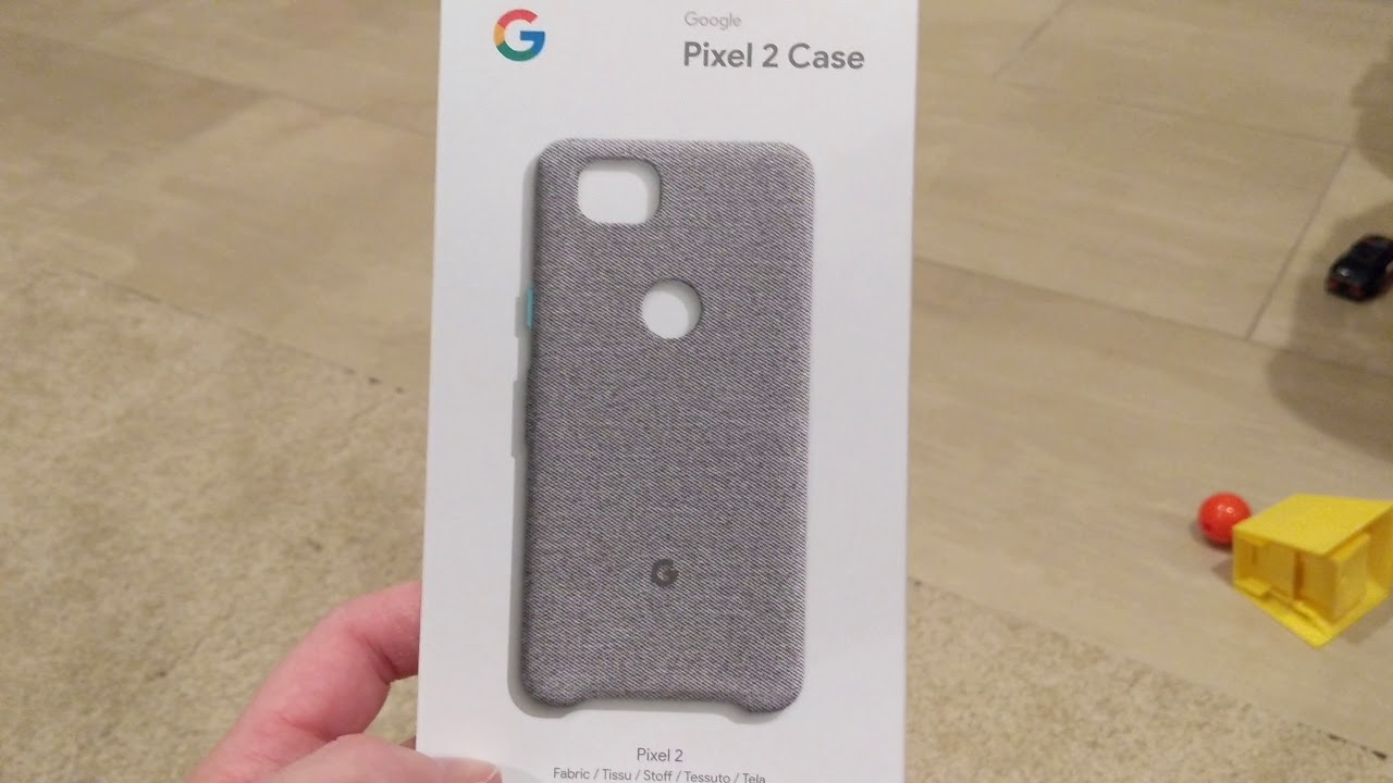 the best attitude b7b2d f2f8d Google Pixel 2 case cement color unboxing