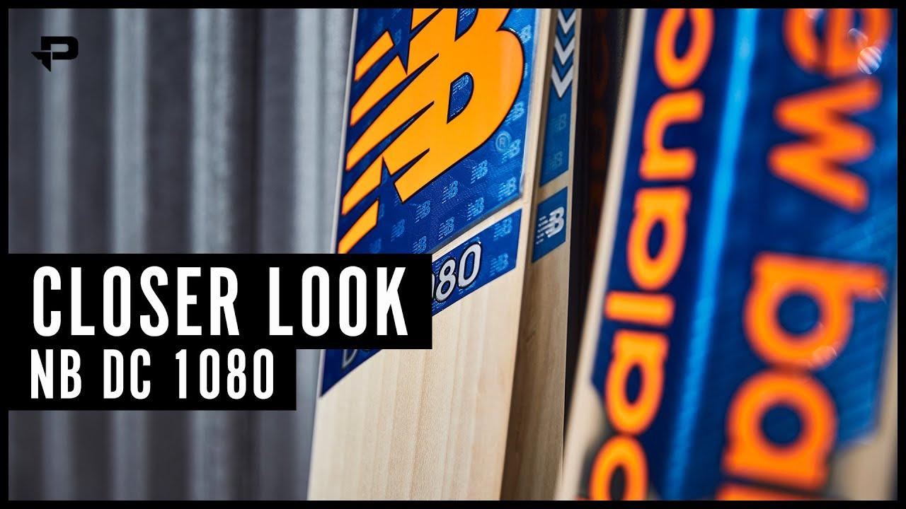 New Balance DC1080 Cricket Bat - Closer Look
