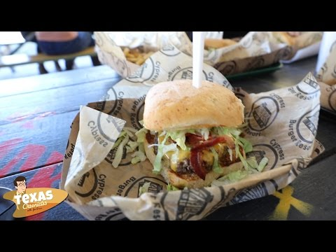 Texas Chronicles Pit Stop: The Shack Burger Resort in Cypress, Texas.