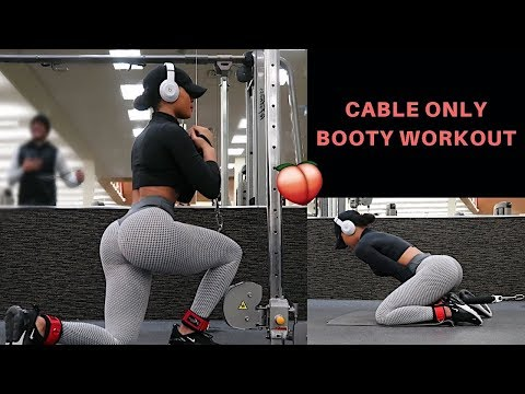 BEST EXERCISES TO GROW YOUR GLUTES | CABLE ONLY WORKOUT