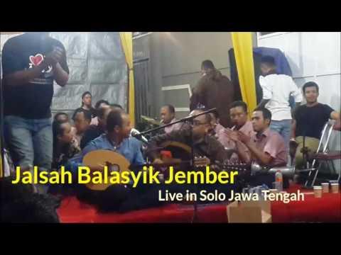 Jalsah Balasyik Jember 081 235 292 90. Live in Solo ft. Fahad Munif