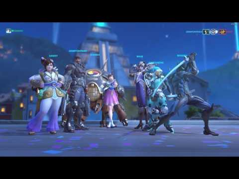 Overwatch Shenanigans with Overwatch Indonesia Line Group !! #1