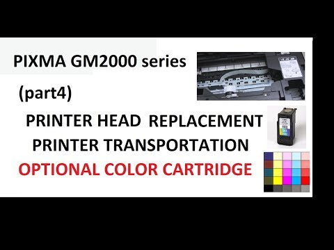 PIXMA G1000 G2000 G3000 Error 5B00 Ink Absorber partial replacement