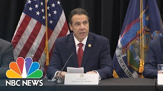 Governor Andrew Cuomo Updates On New Coronavirus Cases In New York | NBC News