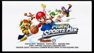 Mario Sports Mix Review (Wii)