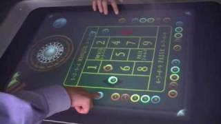 "Microsoft Surface : AFTER-MOUSE creates the first game in real 3D : a Casino ""roulette"""