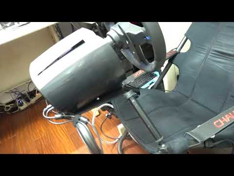 Playseat Challenge wheel plate enhancement (English subtitle
