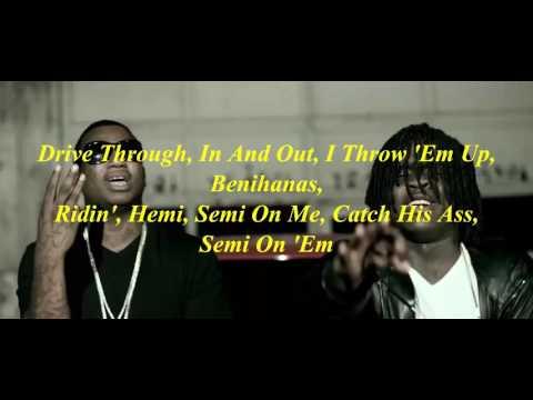 Semi On Em - Chief Keef and Gucci Mane (Lyrics)