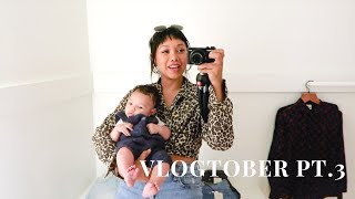 Vlogtober pt 3 - Being a Mom and Youtuber is Hard| HellaJam