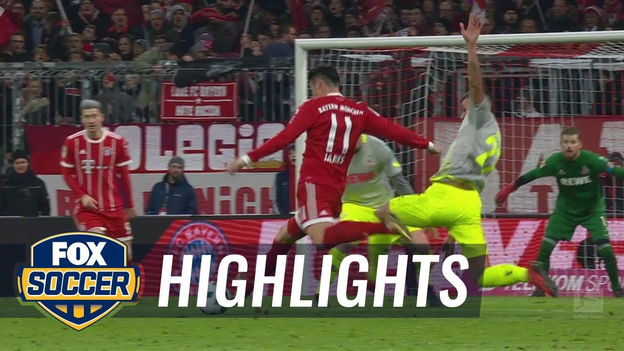 Bayern Munich Vs Fc Koln 2017 18 Bundesliga Highlights