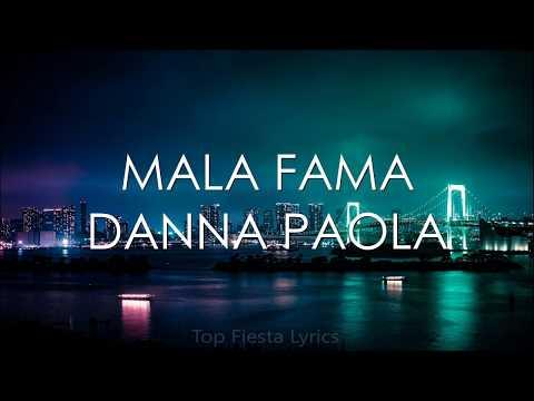 Danna Paola – Mala Fama (Letra)