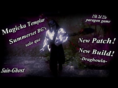 Repeat Magicka Templar PvP Build ~ 'PSIJIC PLAR' ~ Summerset