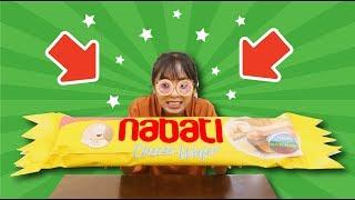 Thử Làm Bánh Nabati Phô Mai Siêu To Khổng Lồ | Kem Cam TV