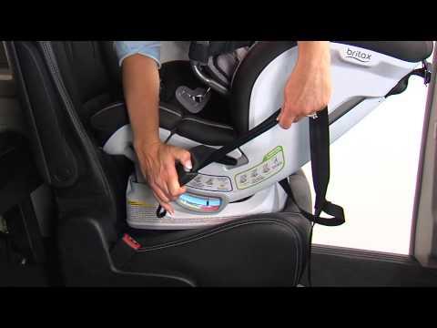 ClickTight Convertibles Rear Facing LATCH Installation Britax Child Safety