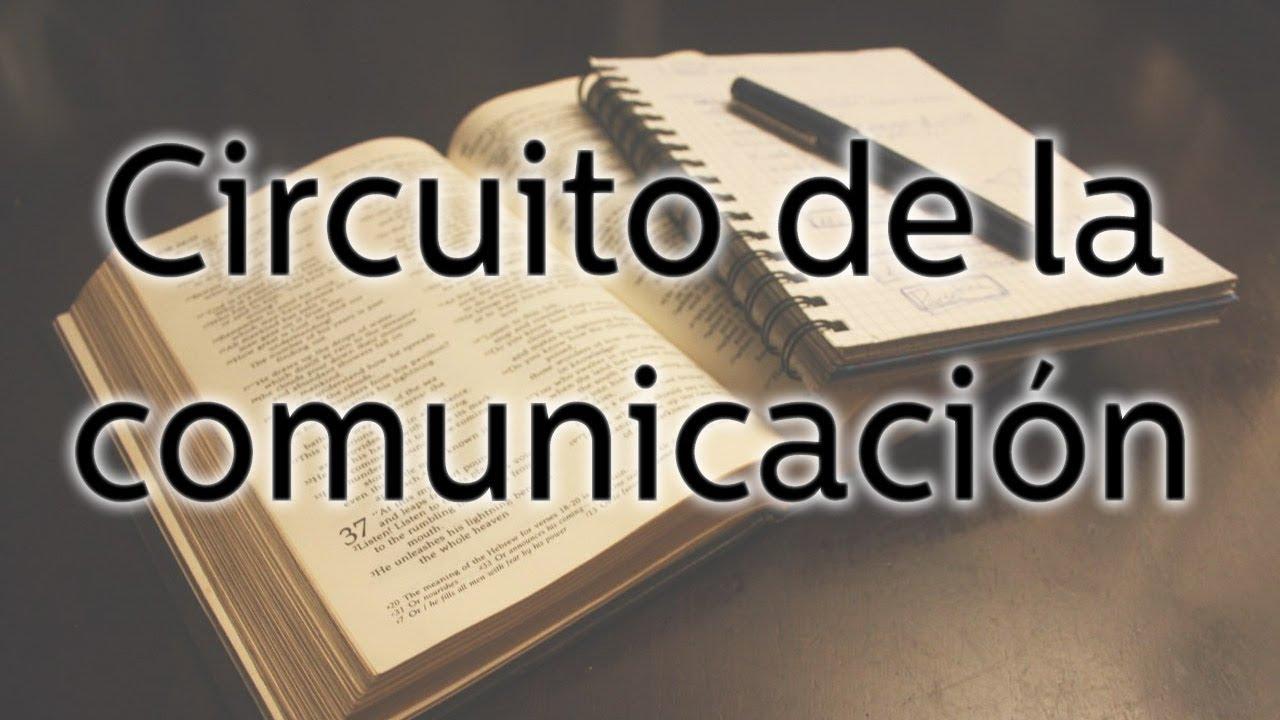 Circuito Que Habla : Circuito de la comunicacion youtube
