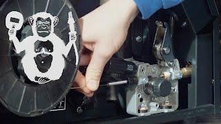 Территория сварки - заправка проволоки в полуавтомат, порошковая проволока(Объясняем, как правильно заряжать проволоку в полуавтомат, и тестируем порошковую проволоку Gradient E71T-GS..., 2016-01-30T12:12:05.000Z)