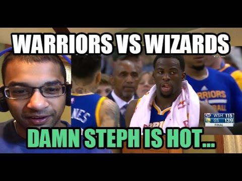 STEPH CURRY THE BEST SHOOTER EVER! Golden State Warriors vs Washington Wizards HIGHLIGHTS (REACTION)