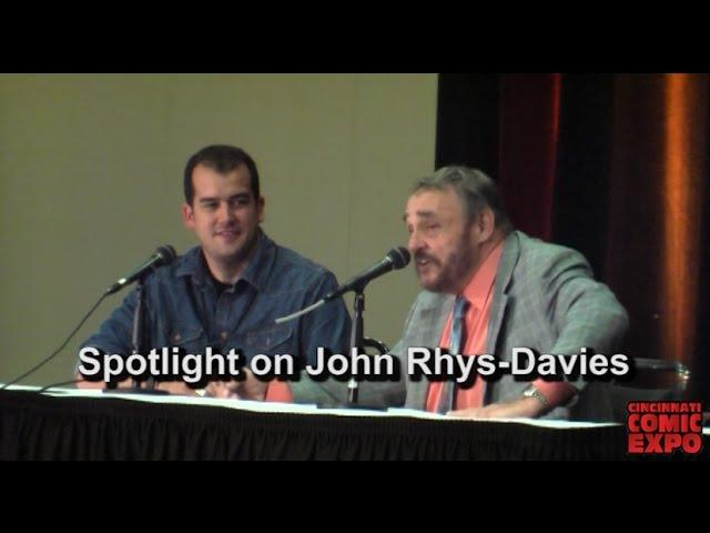 Spotlight on John Rhys-Davies
