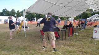 Manx Missiles @ British Flyball Championships 2012, Division 17 - 1st Place