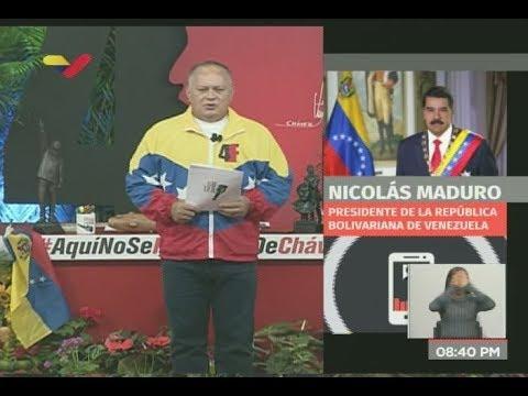 Maduro suspende diálogo en Barbados tras apoyo de Guaidó a nuevas sanciones de Trump