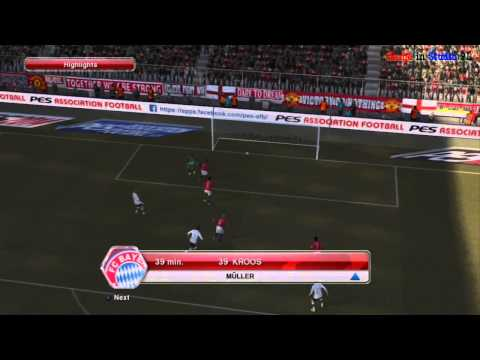 Pro Evolution Soccer 2014 Multiplayer Gameplay [PS3]