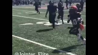 Kid With Wicked Footwork Coaches Up By Coach Joe Jointer (Running Backs)