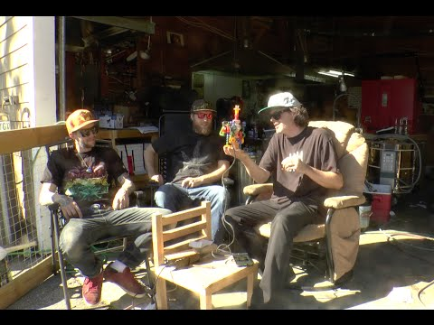 Korey and Glass blowers Sunshine Coast