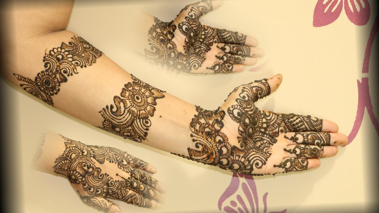 How To Learn Mehndi Designs At Home Step By | Nice Houzz