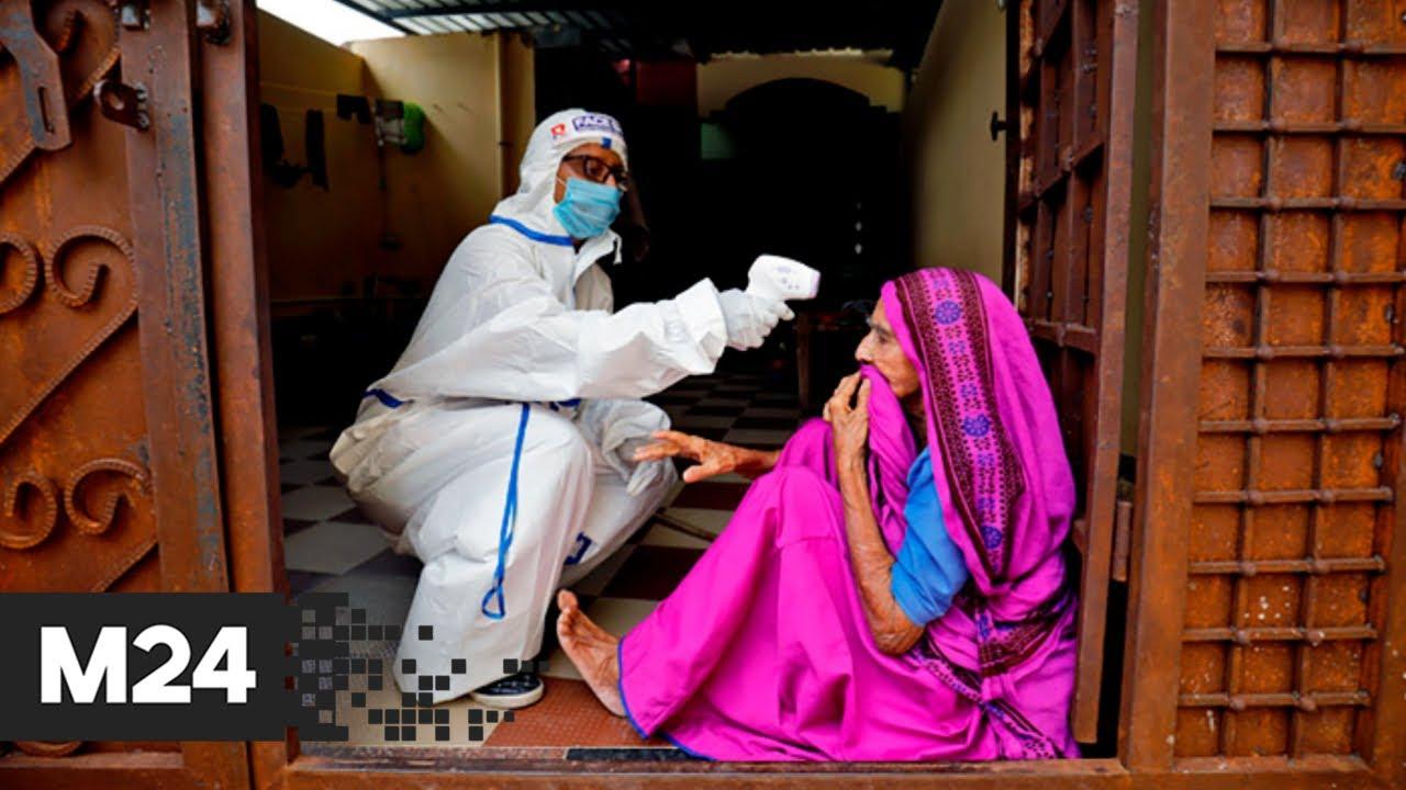 В Индии выявили новый штамм коронавируса - Москва 24