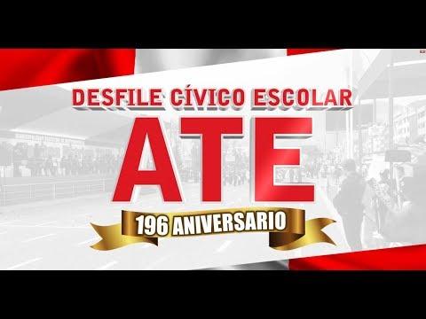 [#EnVivo] Desfile Cívico Escolar - Feliz 196 Aniversario Ate