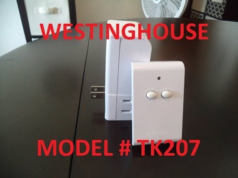 WestingHouse 2 Outlet Wireless Remote Unboxing & Quick Review (Model TK207)