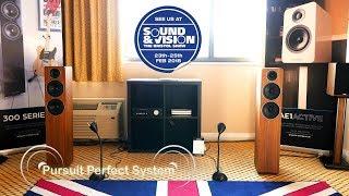 Acoustic Energy AE309 HiFi Speakers Room @  Bristol Show Sound & Vision 2018