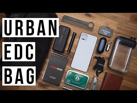 What's In My Urban EDC Bag (Everyday Carry)