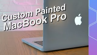 We made a custom 'Space Grey' MacBook Pro! It was... interesting