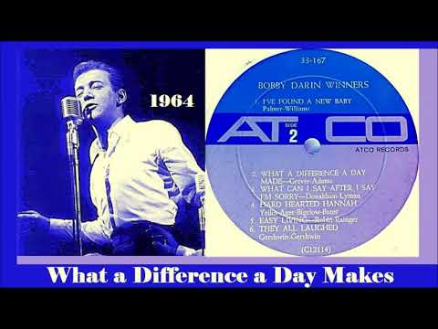 Bobby Darin - What a Difference a Day Makes 'Vinyl'
