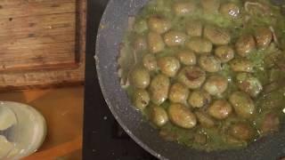 Жаренная картошка в сметане и кефире. Чистый жииир